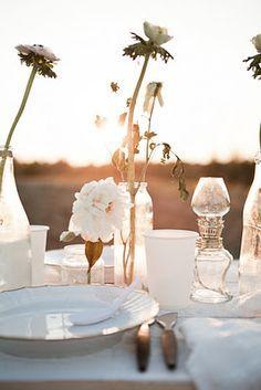 Sunlit Receptions / Wedding Style Inspiration / LANE (instagram: the_lane)