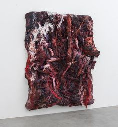 anish kapoor paints fleshy resin + silicone series for lisson gallery