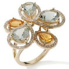 Nice crystal ring