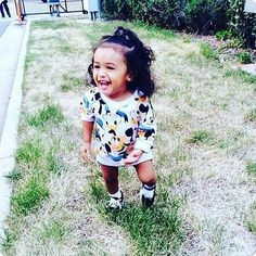 Chris Brown's little girl