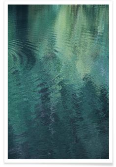 Forest In The Lake as Premium Poster by Studio Nahili | JUNIQE
