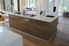 Oak Kitchen Kitchen Island, Kitchens, Home Decor, Island Kitchen, Decoration Home, Room Decor, Kitchen, Cuisine, Home Interior Design