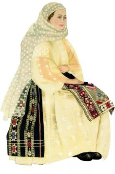 Romanian traditional wear from Braila