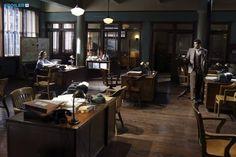 "#AgentCarter 1x02 ""Bridge and Tunnel"" - Hayley Atwell as (Peggy Carter) and Enver Gjokaj as (Daniel Sousa)"