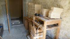 Fabrication des boites bois.