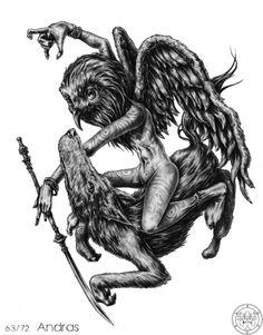 Andras - Demon and Spirit of Solomon