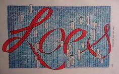 Maak je eigen Naamboeksel.  Hoe werkt het? Je slaat een willekeurige bladzijde open, en speurt naar woorden die met jezelf te maken hebben. Die omcirkel je, als een tekstballonnetje. Daarna schrijf je je naam in grote letters over de hele pagina. Zelf getekende letters of met een sjabloon, alles is goed. En daarna voeg je een beetje kleur toe. Veel plezier!