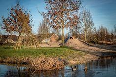 Natuurspeeltuin Wognum op Tweede Paasdag officieel open.