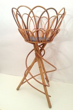 Eco friendly rattan & bamboo french furniture ! by Laura on Etsy