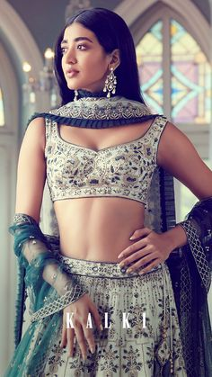 Ethnic Fashion, Modern Fashion, Asian Fashion, Fashion Beauty, Women's Fashion, Bridal Lehenga Choli, Indian Lehenga, Saree Wedding, Wedding Dress