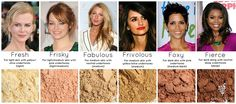 We have celebrity pigments for every shade!