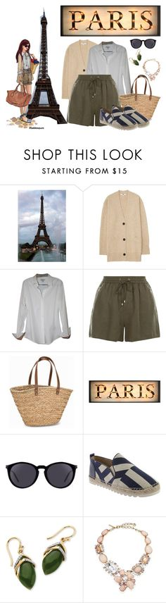"""Paris"" by enekouski ❤ liked on Polyvore featuring Uniqlo, Burberry, New Look, NLY Accessories, Yves Saint Laurent, Nine West, Palm Beach Jewelry and Oscar de la Renta"