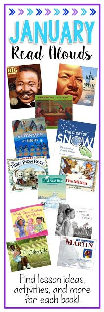 Easy Teaching Tools: Books Teachers Love: Read Alouds for January