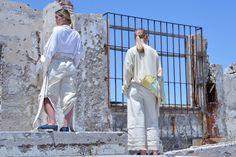 Proyecto Final - Diseño y Producción de Indumentaria - Cátedra Fiorini Inspiración: Ruinas de Epecuén