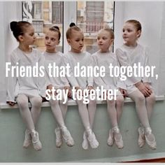 Friends that dance together, stay together. #dancelife #dancers