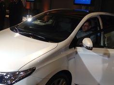 Erster Kontakt mit dem neuen Toyota Auris Hybrid