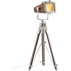 Stilren og spændende Vintage Movie gulvlampe fra Kare Design