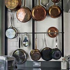 1000 images about pot racks on pinterest pot racks hanging pot racks and pots. Black Bedroom Furniture Sets. Home Design Ideas