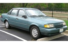 Ford Tempo.  Fords answer to the Chevy Cavalier.  The Cavalier was better.  Scary thought, but at least the Cavalier ran.