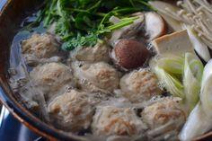 鶏だんご鍋の作り方の写真