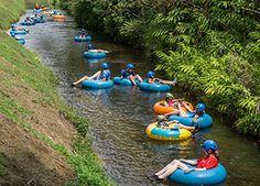 Hawaii mountain tubing Kaua'i Backcountry Adventures