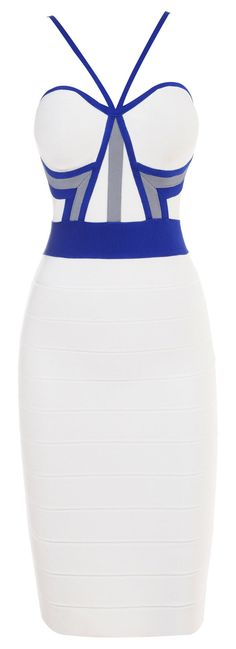 White and Blue Pencil Dress. Would purchase if I had somewhere to wear it to 03f9a11e3