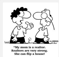 This is how our kids explain what we do as realtors! What is something your kids have said before explaining your job? #RealEstateHumor #Realtors #3SixtyStrategies