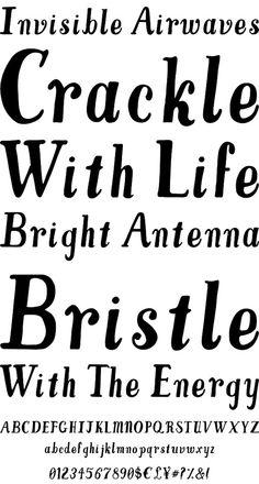 Trithart hand-drawn font by illustrator Emma Trithart.