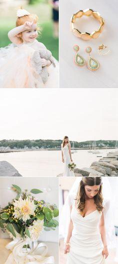 High School Sweethearts' Labor of Love Wedding in Rockport, Massachusetts