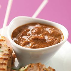 Peanut Butter Dipping Sauce Recipe    Toss with noodles or dip chicken wings in.