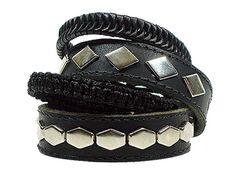 Hank Moody Leather Bracelets as seen on Californication.