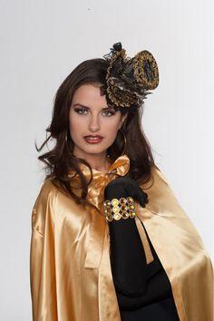 Hoge hoed mini met clip - Hendriks Carnaval
