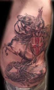Výsledek obrázku pro st george tattoo