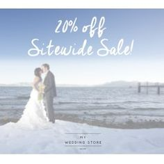 20% Off Sitewide Winter Sale @ My Wedding Store - Bargain Bro
