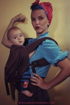 d167f5e204f 18 Best Oh the things you can do while wearing your baby! images ...