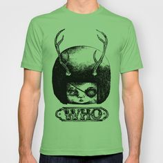 WHO T-shirt by Hana Wolhf - $18.00
