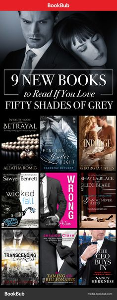 These steamy new books are worth reading if you loved Fifty Shades of Grey (and Christian's smoldering sex appeal!).