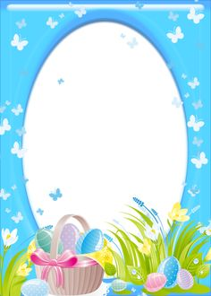 Easter Transparent PNG Frame