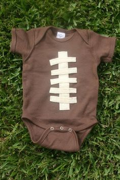 If I liked football, this would be super cute!