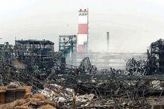 Explosion AZF à  Toulouse le 21 Septembre 2001 .