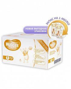 """Подгузники """"Элит Софт"""" 5 (12-22 кг) 112 шт. Хаггис(Huggies)"""