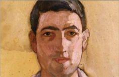 Self Portrait (Early) - Spyros Papaloukas Face Art, Art Faces, Post Impressionism, Art Database, Selfies, Painters, Artworks, Greek, Portraits