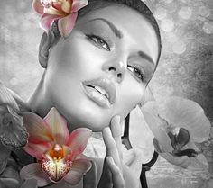 Spring Flash by MelGama on DeviantArt Many Faces, Flower Images, Girls Image, Colour Images, Makeup Art, Rainbow Colors, Artsy Fartsy, Color Splash, Fashion Photography