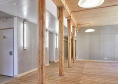 Belus & Hénocq completes timber dormitory for Parisian school