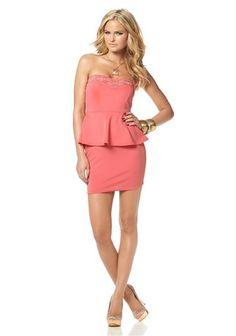 Melrose Bandeaukleid im Online Shop von Ackermann Versand Shops, Peplum Dress, Shopping, Dresses, Fashion, Vestidos, Moda, Tents, Fashion Styles