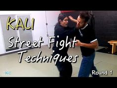 Kali STREET FIGHTING Techniques - Empty Hands