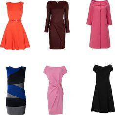 Dresses for Narrow Shoulders