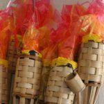 Survivor torches and fake fire