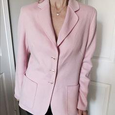 Escada Jackets & Coats - Escada powder pink jacket