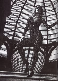 1f3f753d0f Raquel Zimmermannn in  Darker is the Memory  - Photographed by Mario  Sorrenti (Vogue Nippon October
